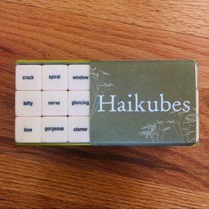 HAIKUBES Haiku Dice Poetry Game BRAND NEW